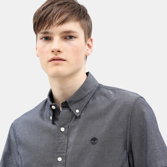 Milford Short Sleeve Shirt for Men in Navy | Timberland