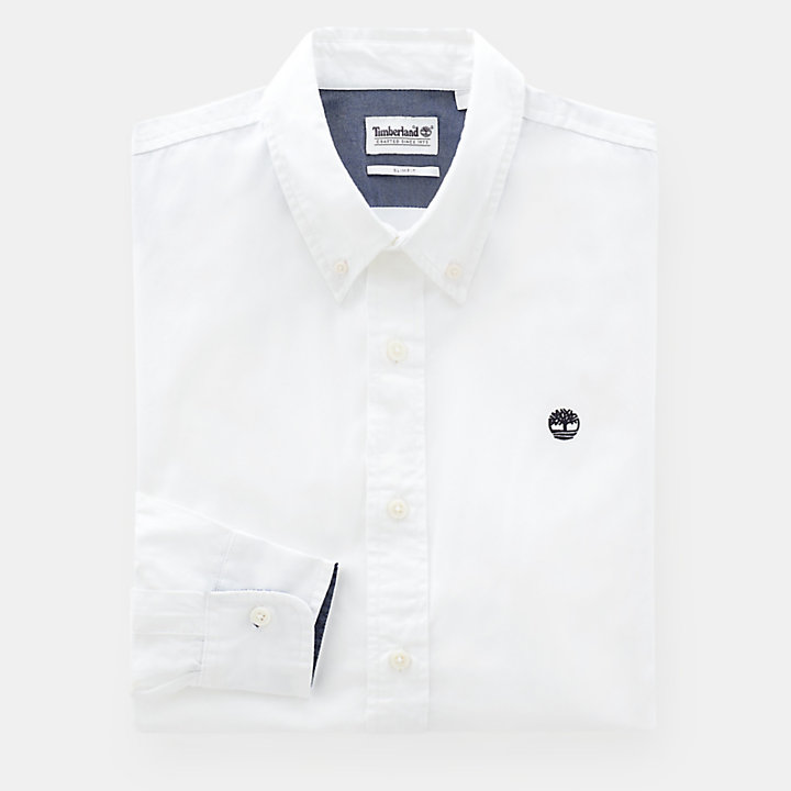 Milford Shirt for Men in White-