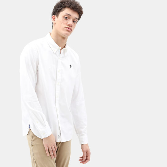 Milford Shirt for Men in White | Timberland