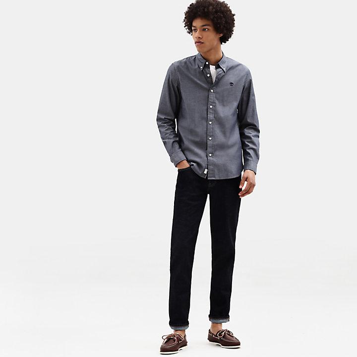 Camicia da Uomo Milford in blu marino-