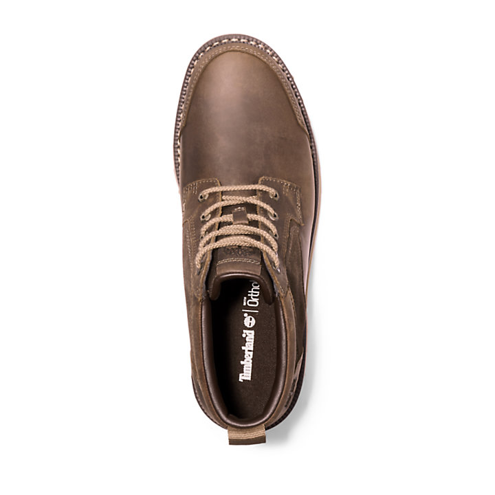 Chukka da Uomo Larchmont in marrone scuro-