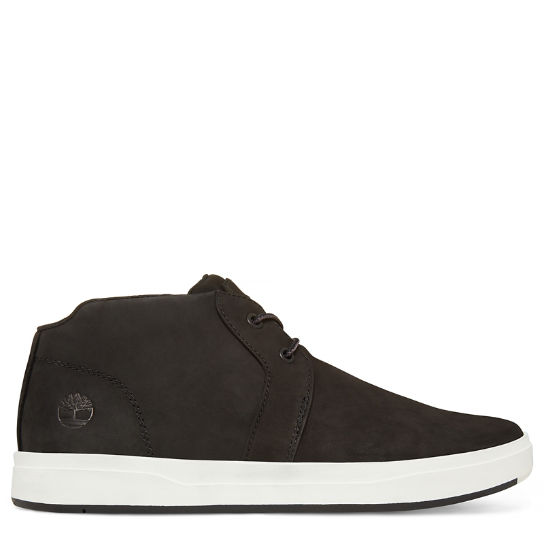 Men's Davis Square Chukka Shoe Black | Timberland