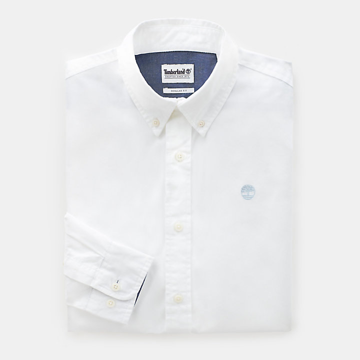 Wellfleet Shirt for Men in White-