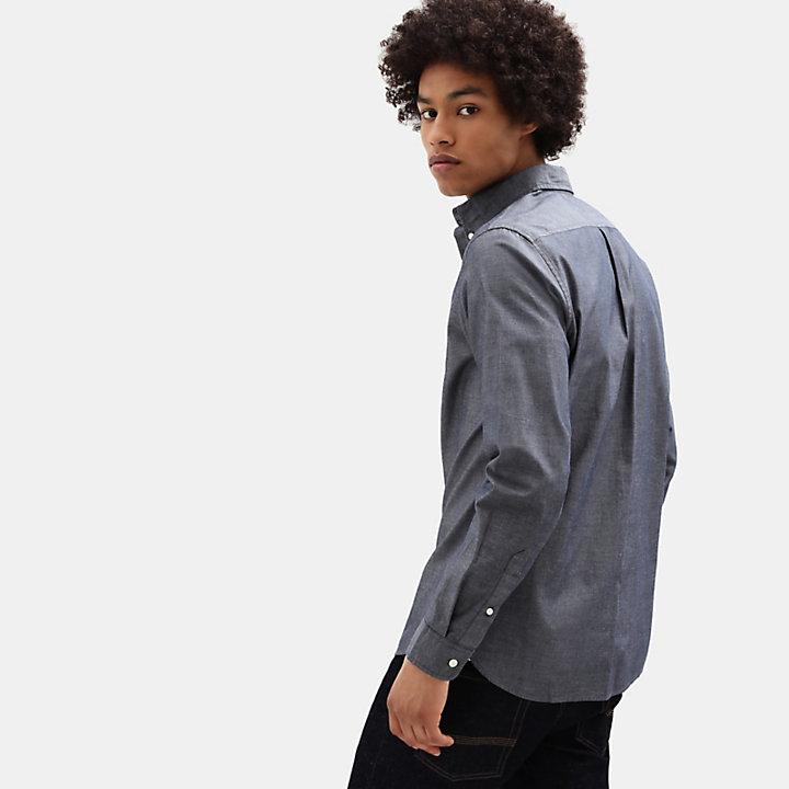 Camisa Wellfleet para Hombre en azul marino-