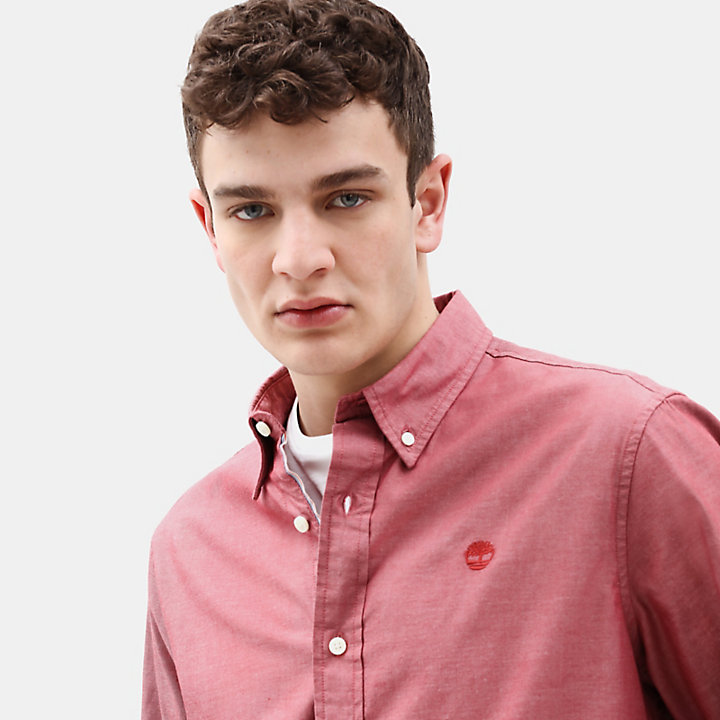 Wellfleet Shirt for Men in Red-