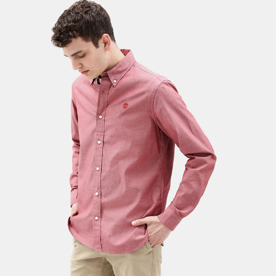 Wellfleet Shirt for Men in Red | Timberland