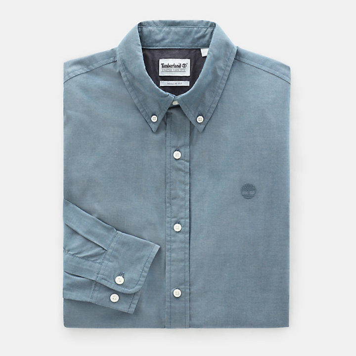 Wellfleet Shirt for Men in Teal-