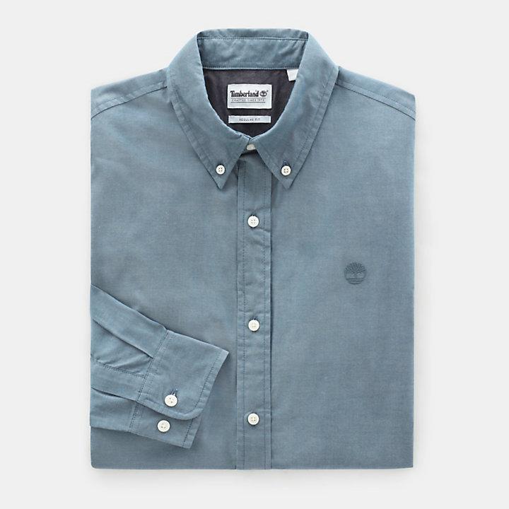 Camisa Wellfleet para Hombre en azul verdoso-