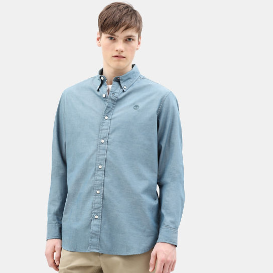 Wellfleet Shirt for Men in Teal | Timberland
