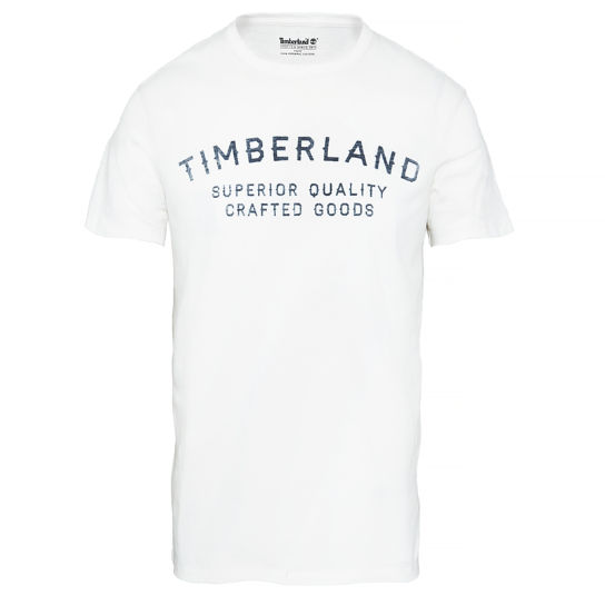 Men's Kennebec River Brand T-Shirt White | Timberland