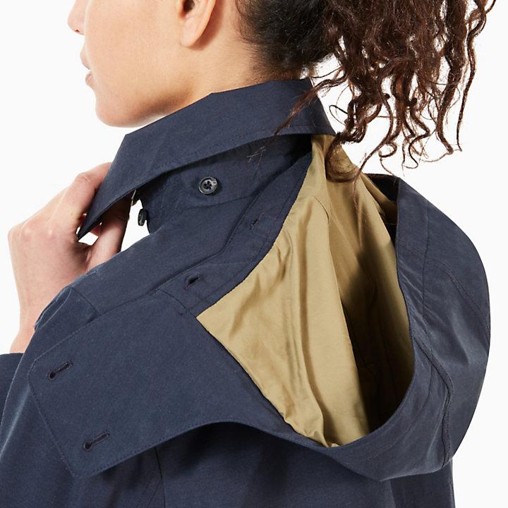Trenchcoat voor Dames in Marineblauw-