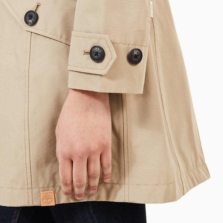 Trench Coat for Women in Beige-