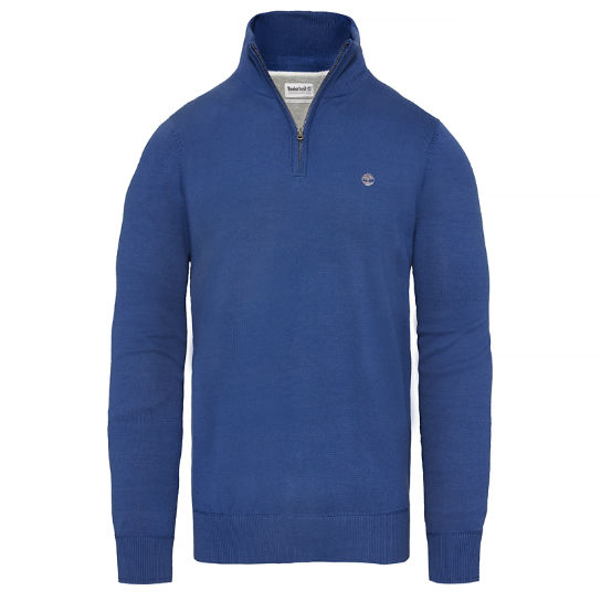 Williams River Sweater Homme Bleu | Timberland