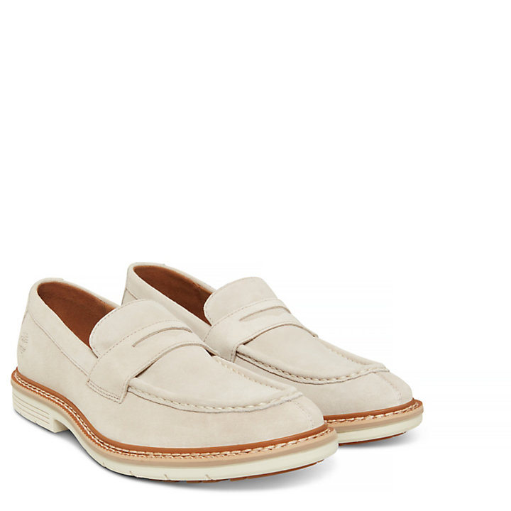Herren Naples Trail Penny Loafer Beige-