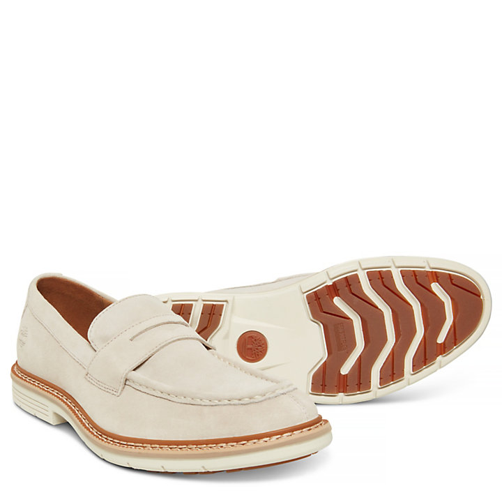 Naples Trail Penny Loafer Uomo Beige-