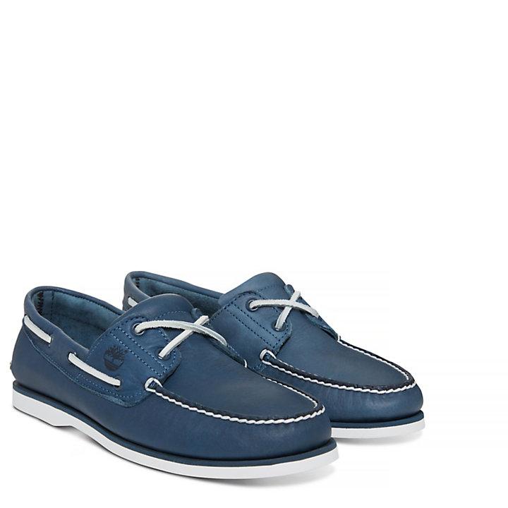 Men's 2-Eye Boat Shoe Navy-