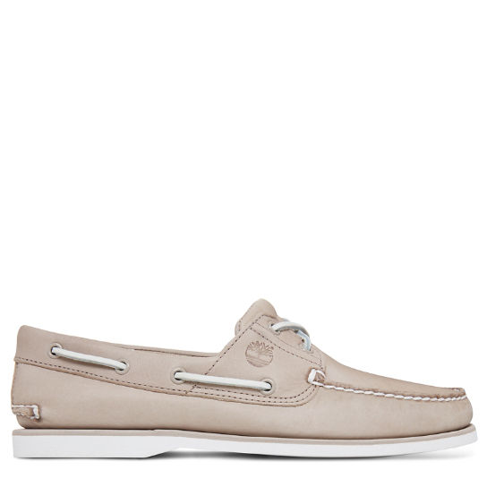 Men's 2-Eye Boat Shoe Beige | Timberland