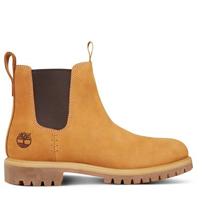Premium+6+Inch+Chelsea+Boot+for+Men+in+Yellow