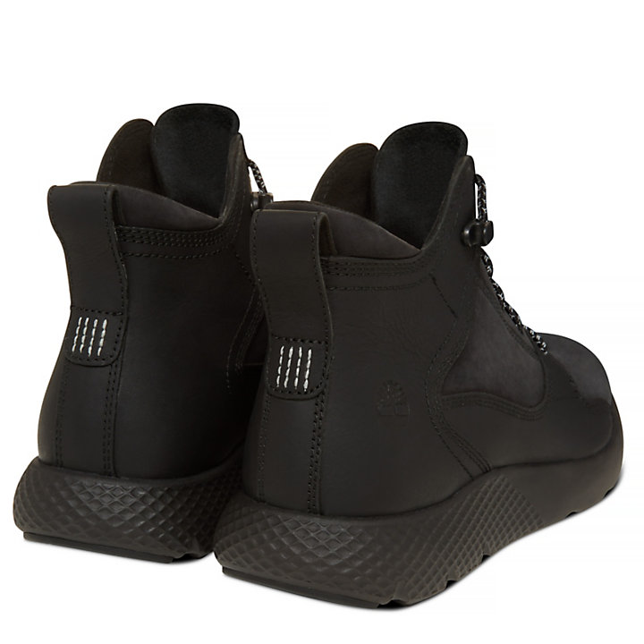 Flyroam Leather Sneakerboot negro hombre-