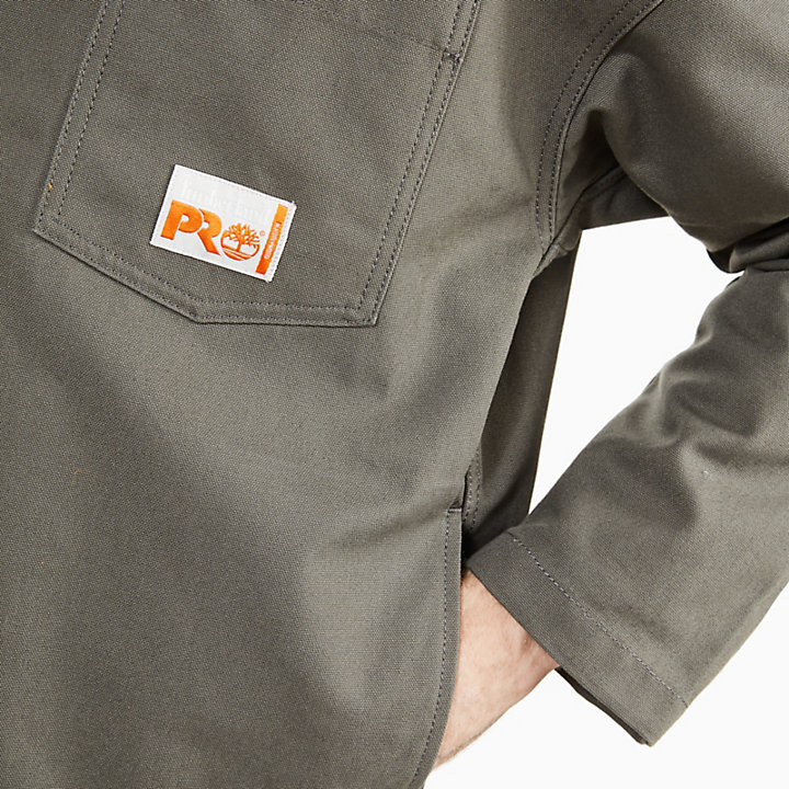 Timberland® x N Hoolywood Workwear Jacket for Men in Dark Grey-