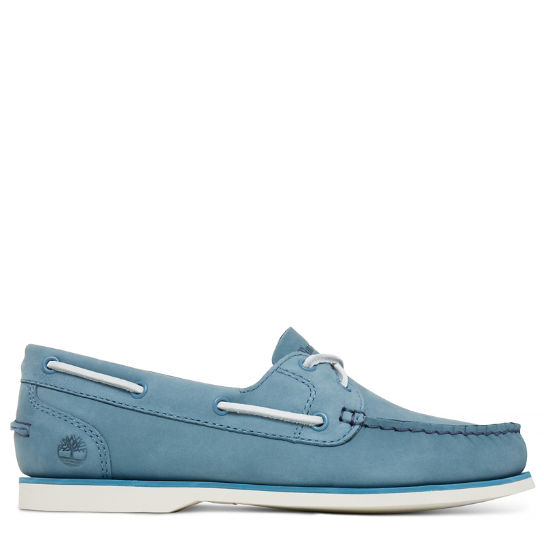 Classic Boat Shoe Femme bleues | Timberland