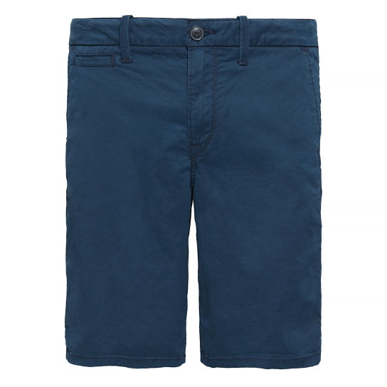 Herren Squam Lake Chino Shorts Nachtblau | Timberland