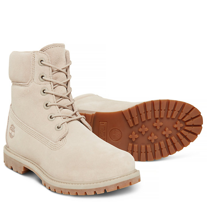 6-inch Boot Femme Taupe-