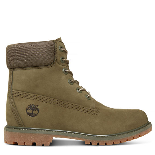 Women's 6-inch Boot Green | Timberland