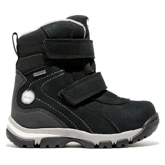 Toddler Jiminy Peak Snow Boot Black | Timberland