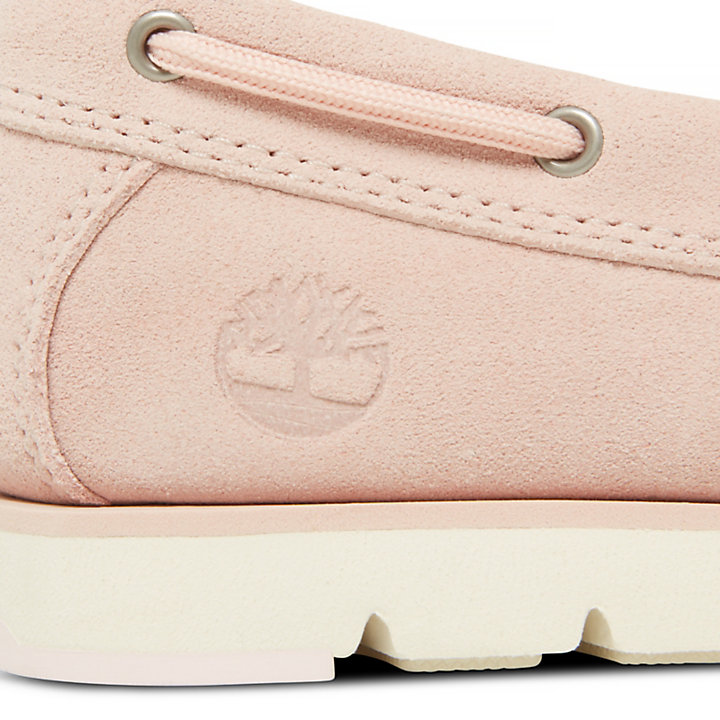 Camden Falls Boat Shoe for Women in Pale Rose-