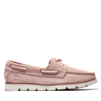 Camden+Falls+Boat+Shoe+for+Women+in+Pale+Rose