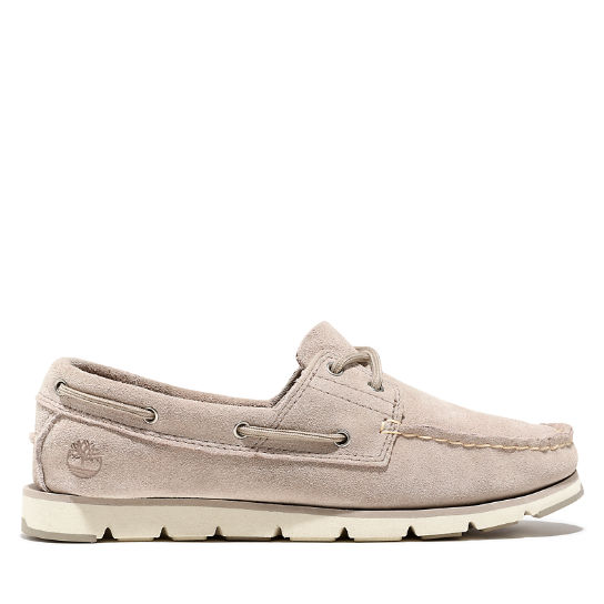 Camden Falls Boat Shoe for Women in Beige | Timberland