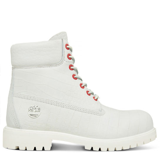 6-inch Boot Reptile Homme blanches | Timberland