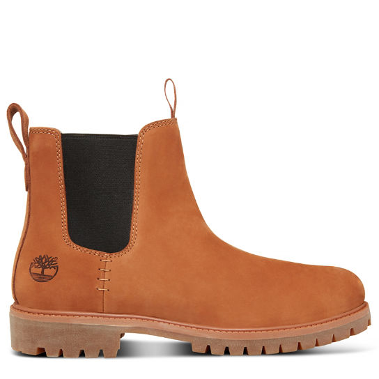 6-Inch Premium Chelsea Marrón Hombre | Timberland