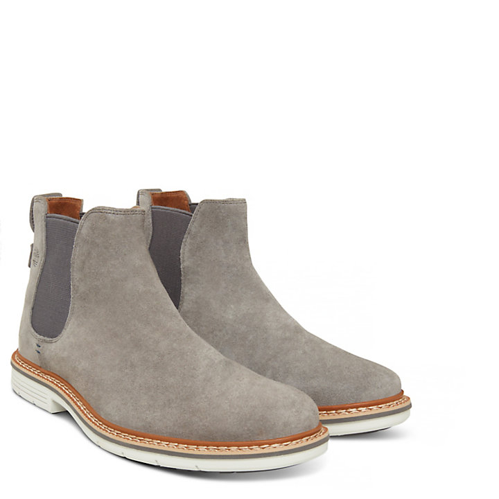 Men's Naples Trail Chelsea Boot Grey-
