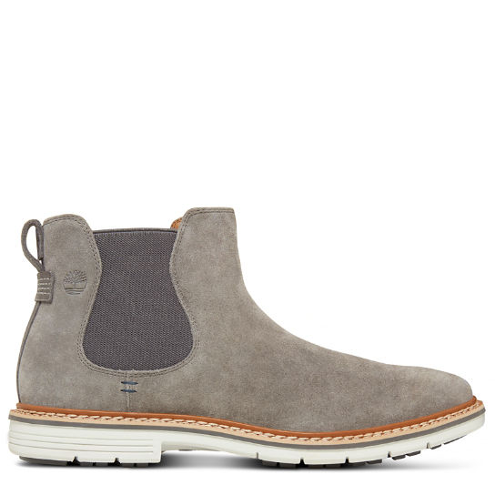 Men's Naples Trail Chelsea Boot Grey | Timberland