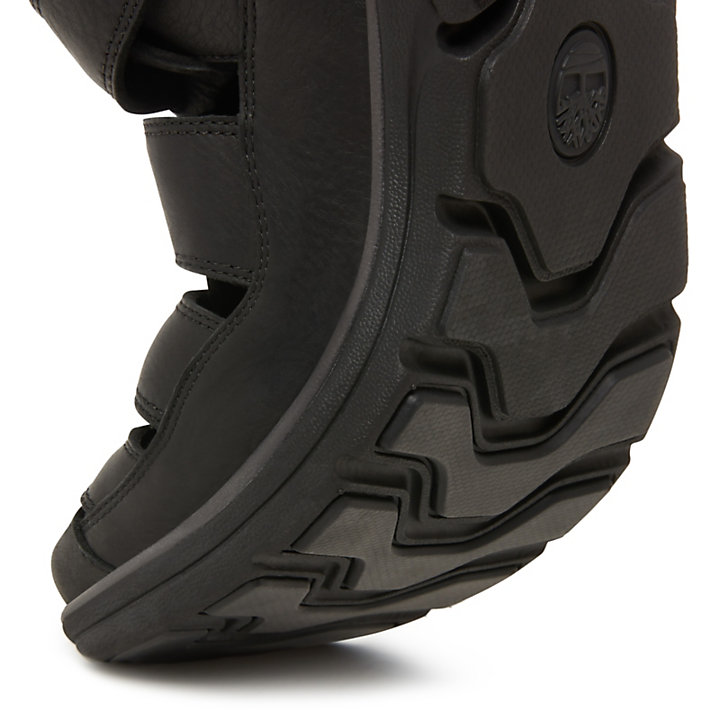 Men's Bradstreet Fisherman Sandal Black-