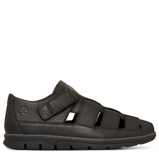 Men's Bradstreet Fisherman Sandal Black | Timberland