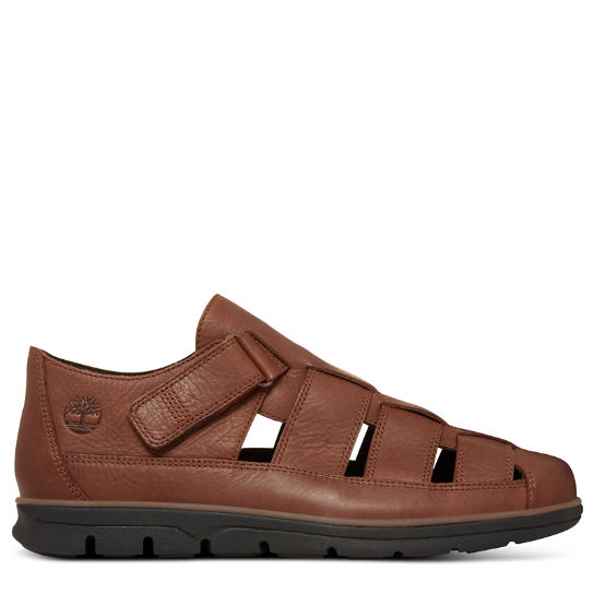 Men's Bradstreet Fisherman Sandal Brown | Timberland
