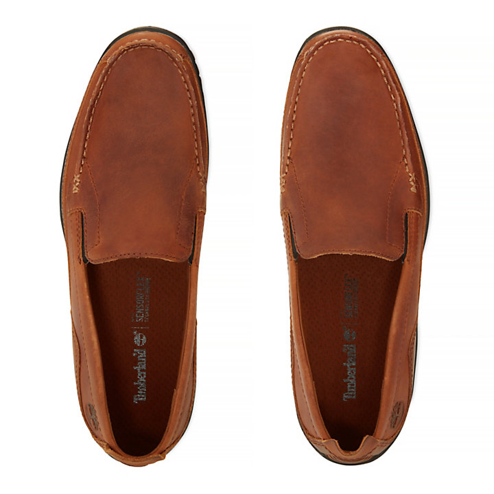 Herren Sandspoint Venetian Shoe Gelbbraun-
