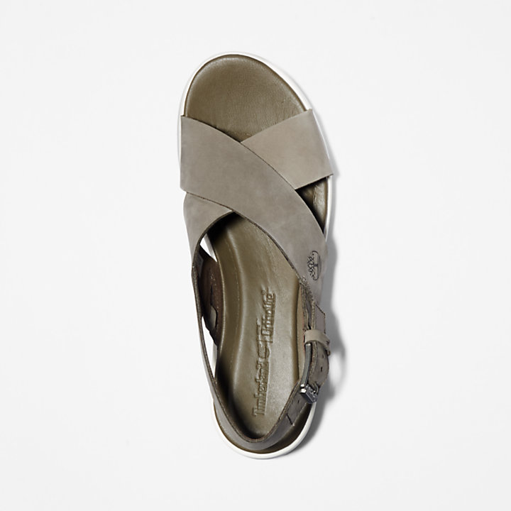 Los Angeles Wind Slingback voor Dames in Grijs-beige-