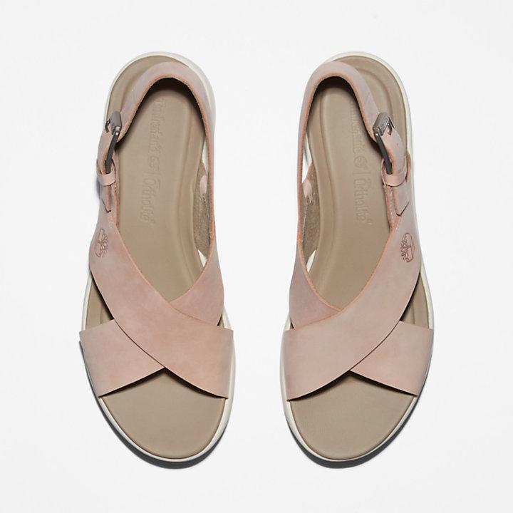 Sandale Los Angeles Wind Slingback pour femme en rose pâle
