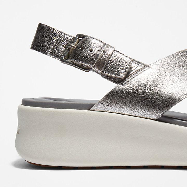 Los Angeles Wind Slingback für Damen in Silber-