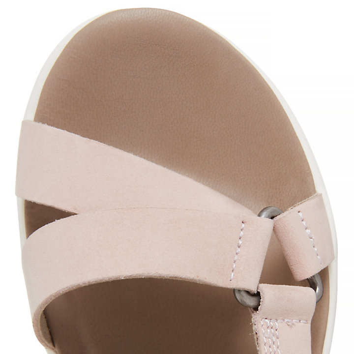Los Angeles Wind Sporty Sandal rose pâle Femme-
