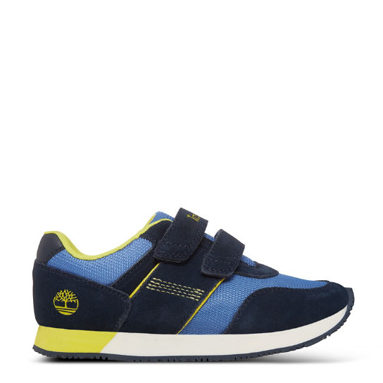 Youth City Scamper Oxford Sneaker Navy/Blue | Timberland