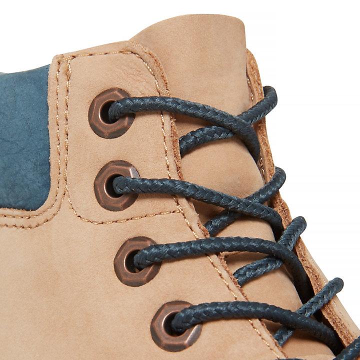 6-inch Waterproof Boot Kids Beige-