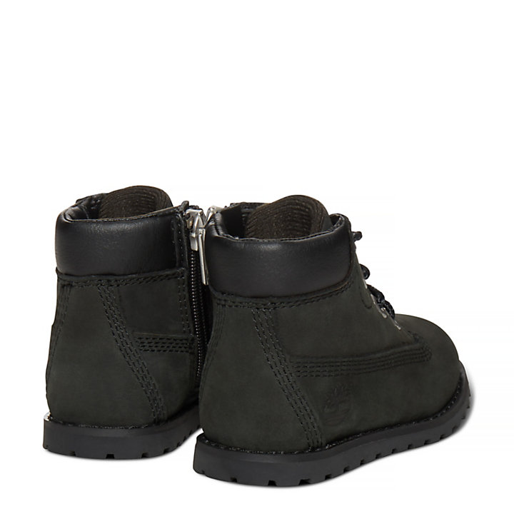 Pokey Pine 6 Inch Boot for Toddlers in Black-