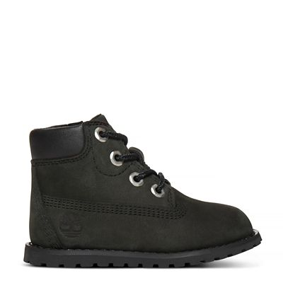 Pokey Pine 6 Inch Boot For Toddlers In Black Timberland