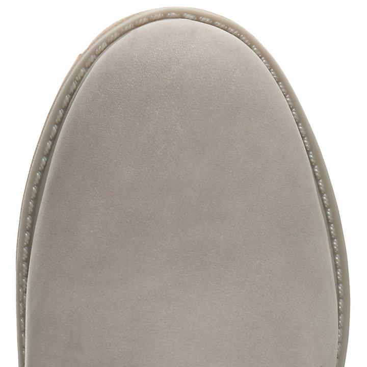 cd409b40e7aca0 Premium 6 Inch Pull-On Damenstiefel in Grau
