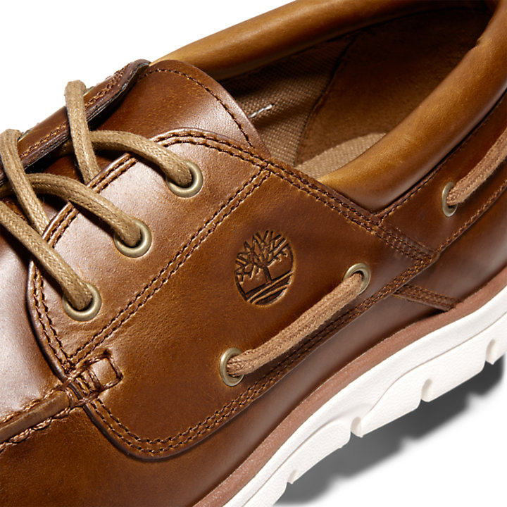 Bradstreet Boat Shoe for Men in Brown-